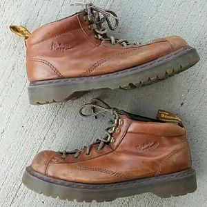Dr. martens brown leather boots mens size 11